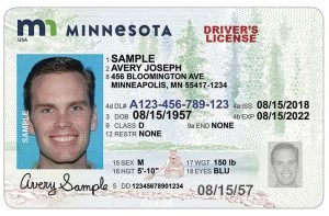 Minnesota Adult Standard Driver License